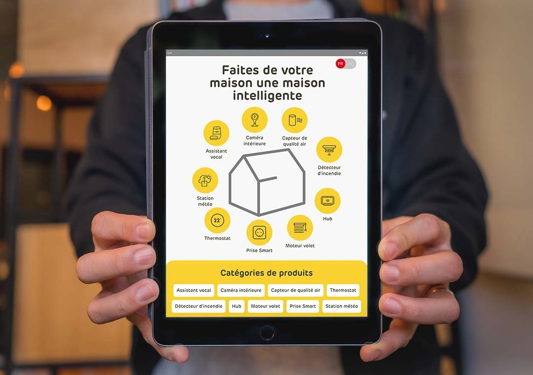 Developing an in-store smart tablet experience