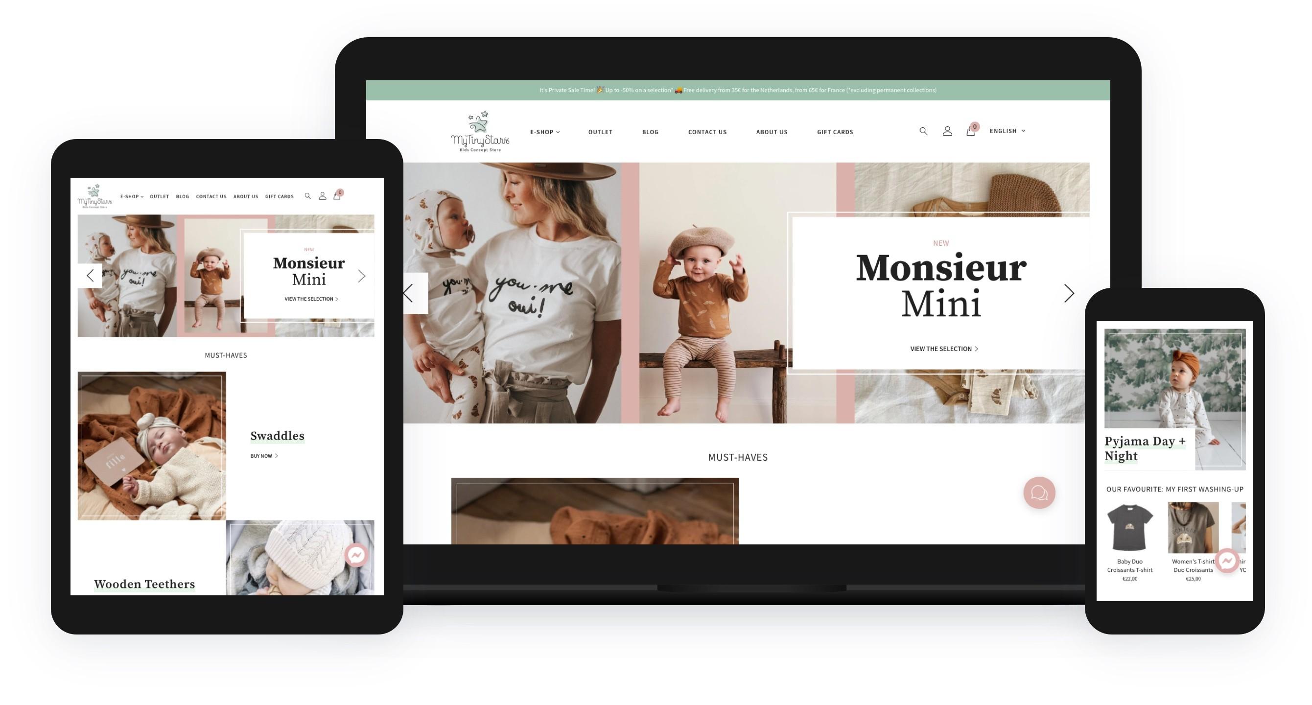 kids concept store webshop